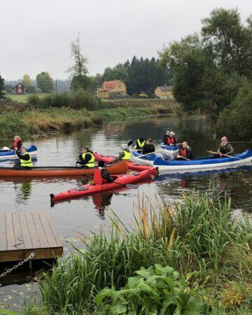 Kajaker och kanoter